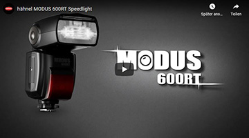 Hähnel Modus 600RT Video